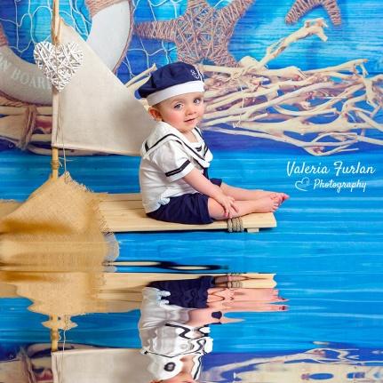 Photo enfant petit marin