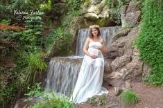 Photo de grossesse au parc