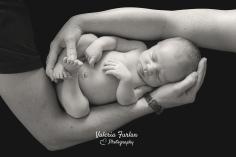 Bebe et mains des parents
