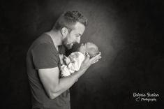 Photo de bebe avec papa