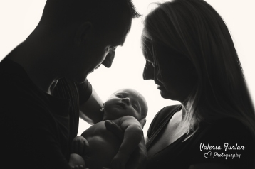 Photo de bebe avec parents