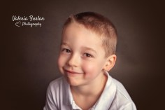 Photo enfant portrait en studio