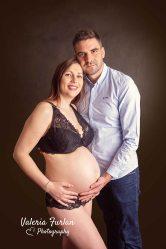 Photo de grossesse en studio-6
